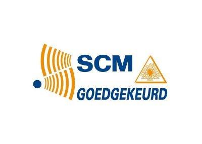 Kiwa SCM logo goedgekeurd logo