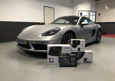 Audio upgrade in Porsche Audison en helix