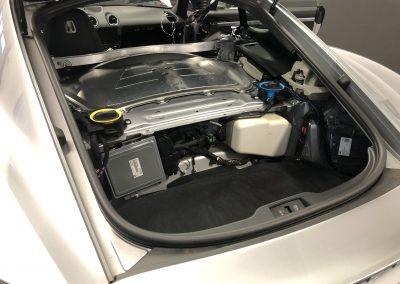 Audio upgrade in Porsche