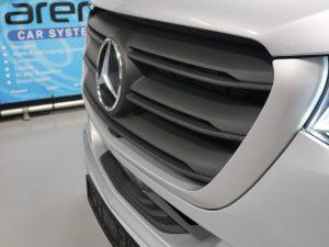 FIBER Laser gemonteerd in Mercedes Sprinter