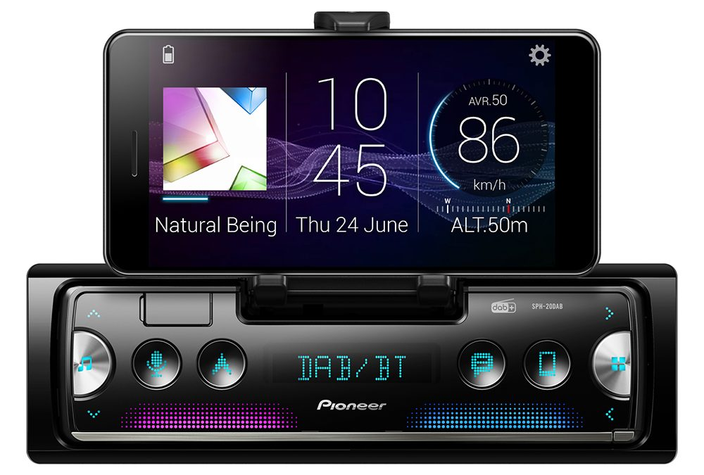 Pioneer SPH-DA20DAB smartphone integratie
