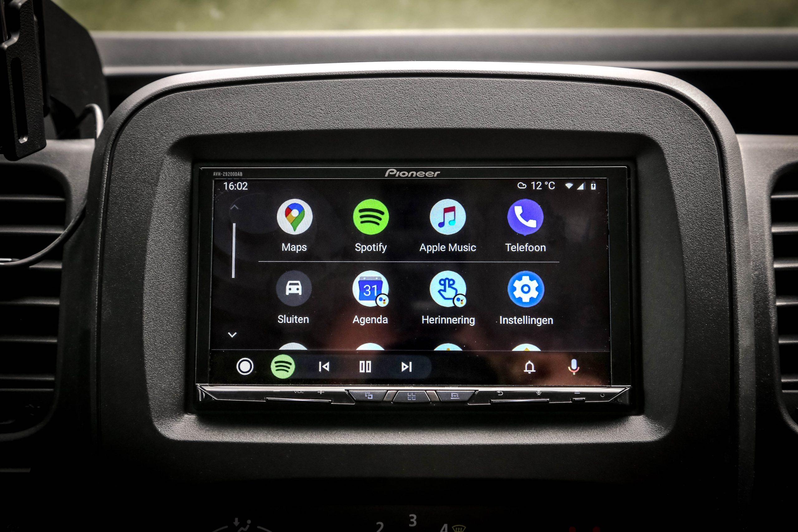 Auto Android gebruiken in de auto