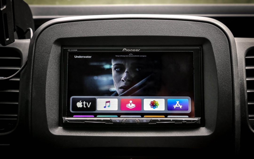 Apple tv aangesloten op je autoradio