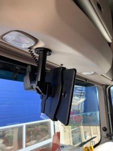 Brodit houder samsung tablet in Daf vrachtwagen