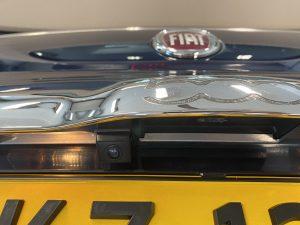 Fiat 500 met achteruitrijcamera